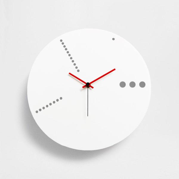 orologio bianco da parete