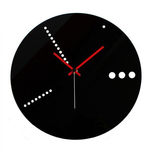 Orologio da parete fori in plexiglass