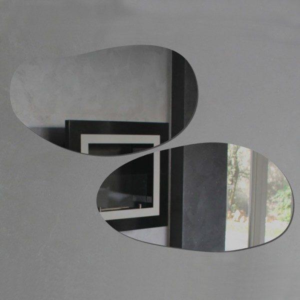 Specchio da parete in plexiglas di design