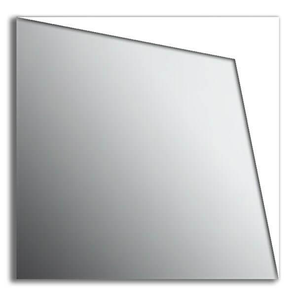 Specchio da parete in plexi moderno - Angolo - Plexiartglass