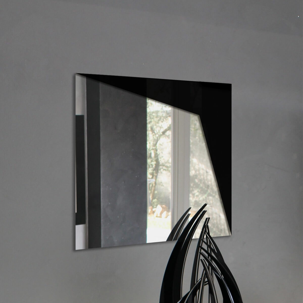 Specchio da parete moderno - Angolo