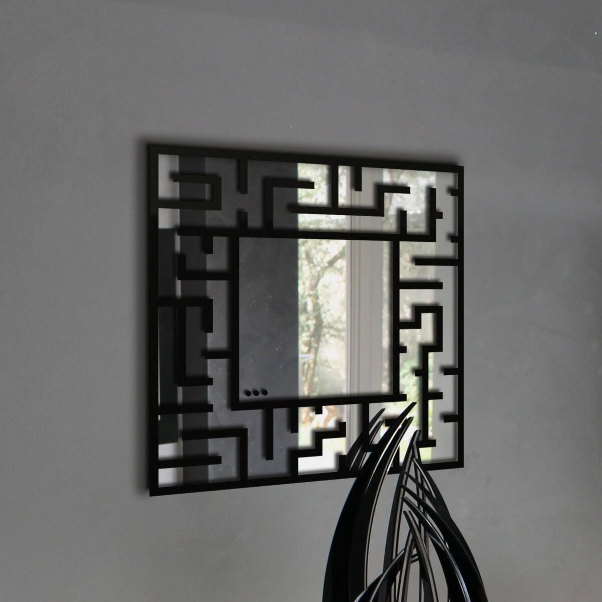 Specchio da parete moderno - Labirinto - Plexiartglass