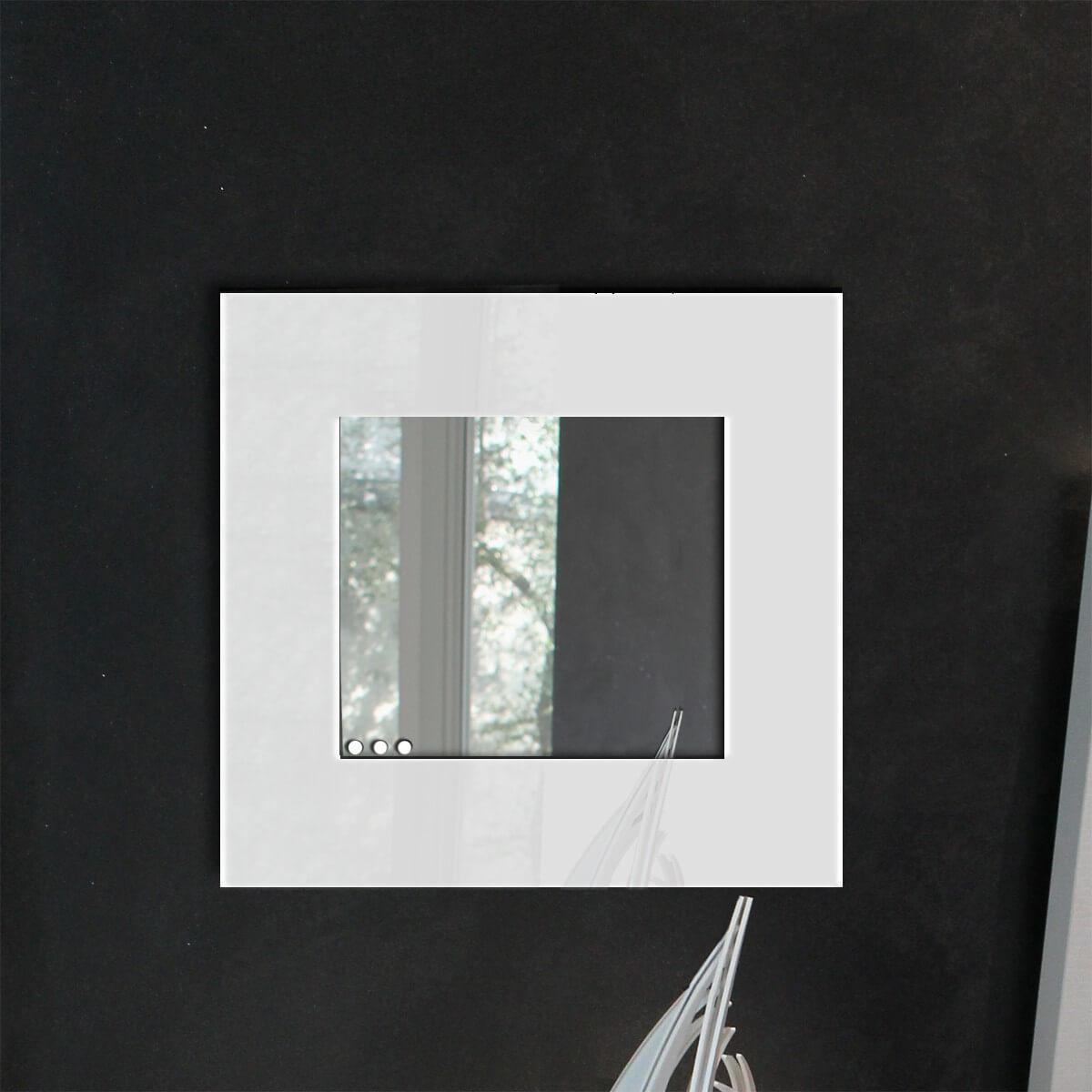 Specchio da parete con cornice continua - Plexiartglass