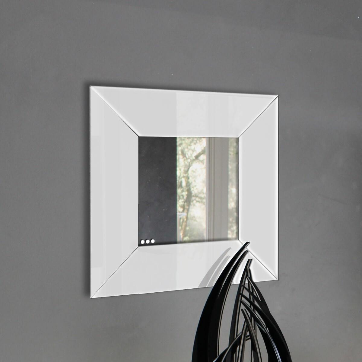 Specchio da parete quadro plexiartglass for Specchio da parete bianco