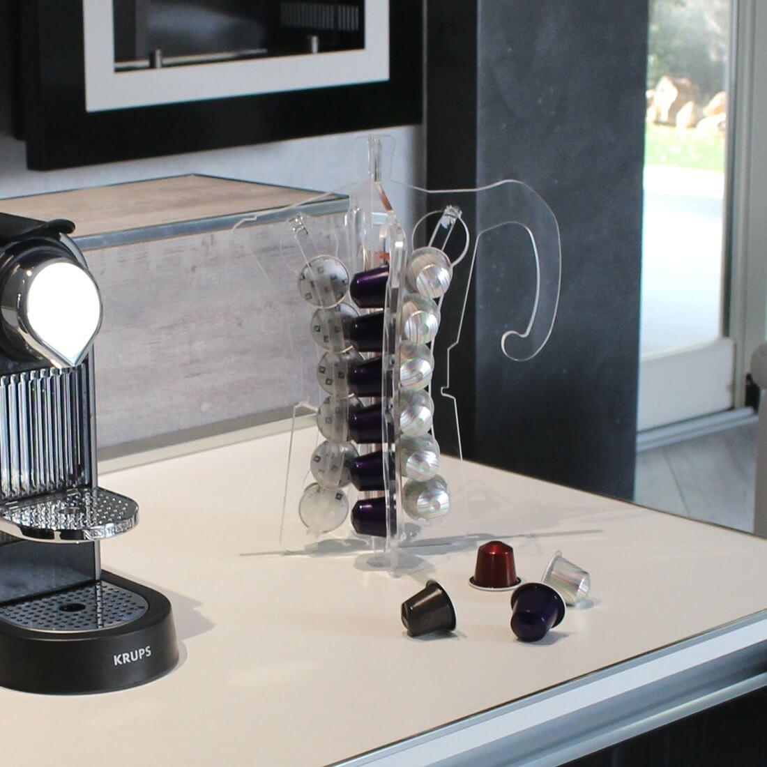 Porta Capsule Originale Di Design Nespresso Plexiartglass