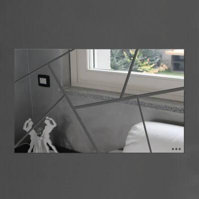 Specchio da parete grande a mosaico