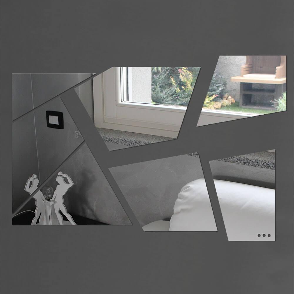Specchio da parete - Mosaico - Plexiartglass