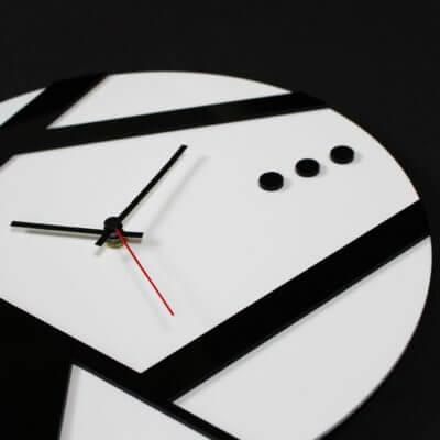 Orologio linea in plexiglass