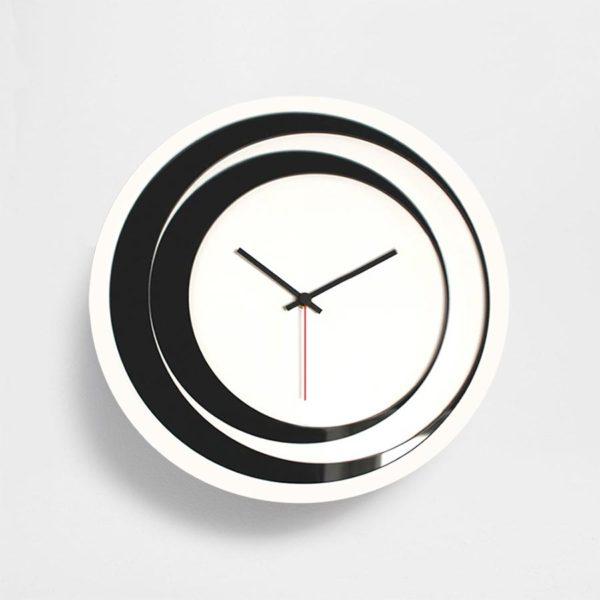 orologio da muro in plexiglas
