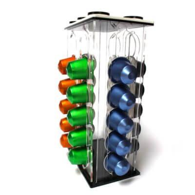 Porta capsule lego in plexiglass