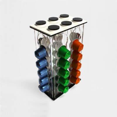 porta capsule per 30 capsule Nespresso