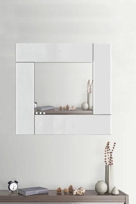 Specchio da parete di design moderno su misura in plexiglass